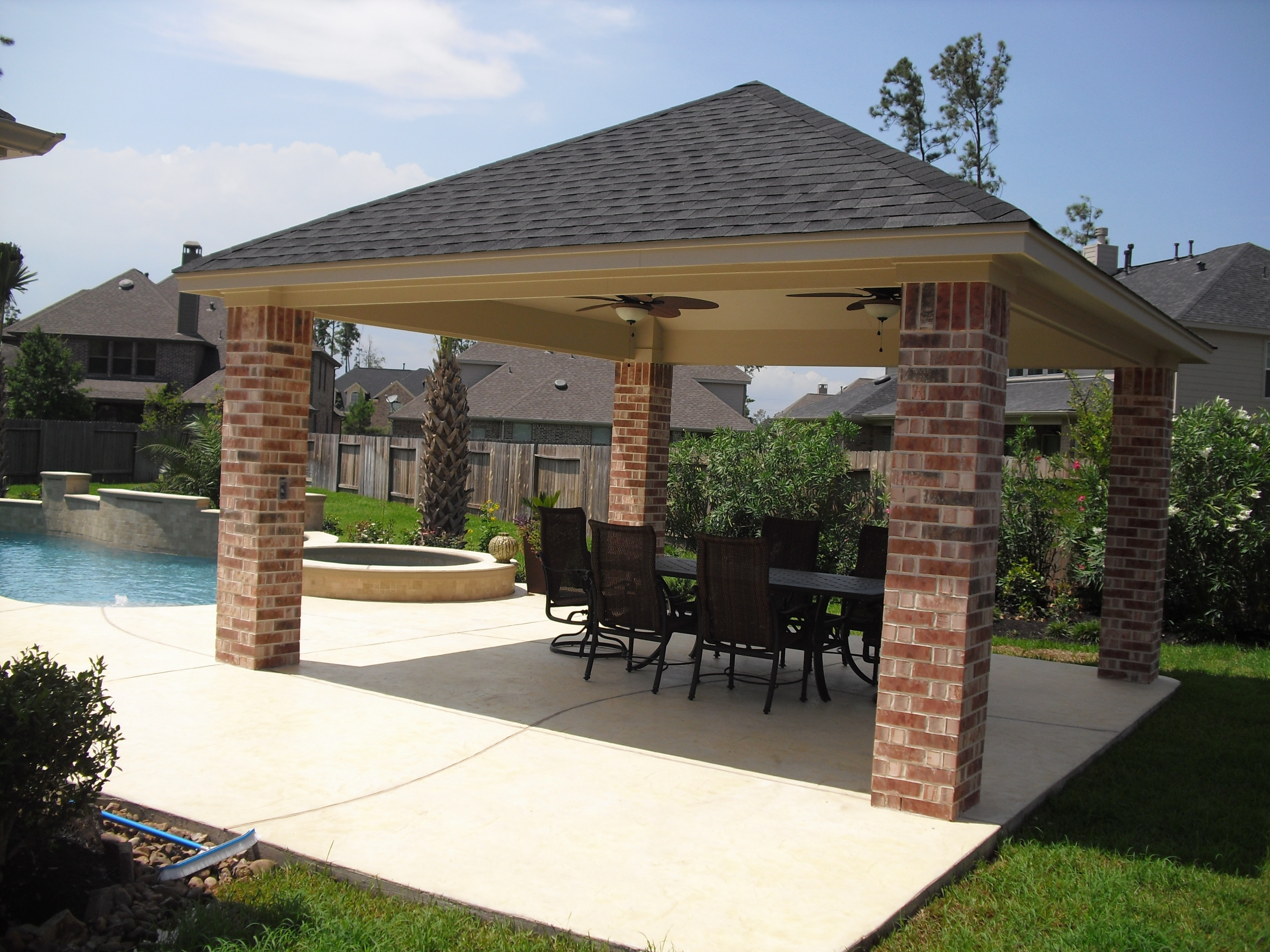 Patio Covers - Custom Patio Structures on Patio Covers Ideas  id=18194